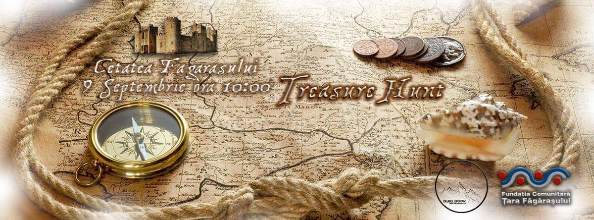 Înscrie-te online la Treasure Hunt pana pe 2 septembrie 2017!